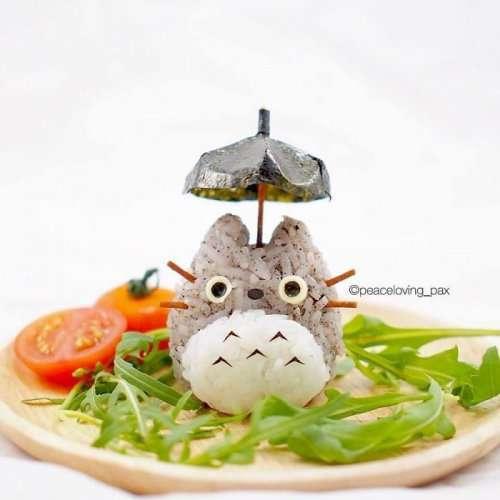 Симпатичные онигири: фуд-арт художницы Peaceloving Pax (15 фото)