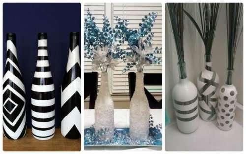 Креативные и оригинальные предметы из стеклянных бутылок (12 фото)