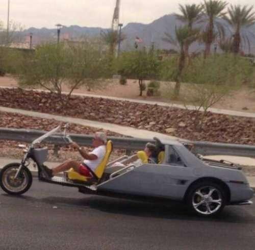 Приколы на дорогах (25 фото)