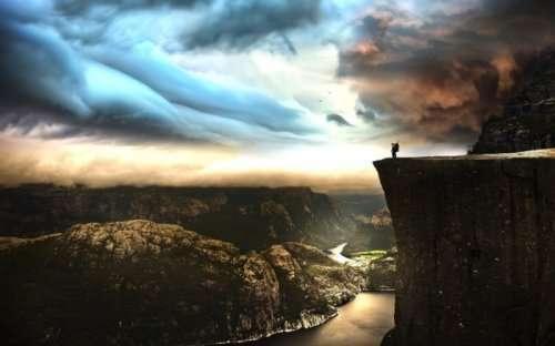Красота и великолепие Норвегии (22 фото)
