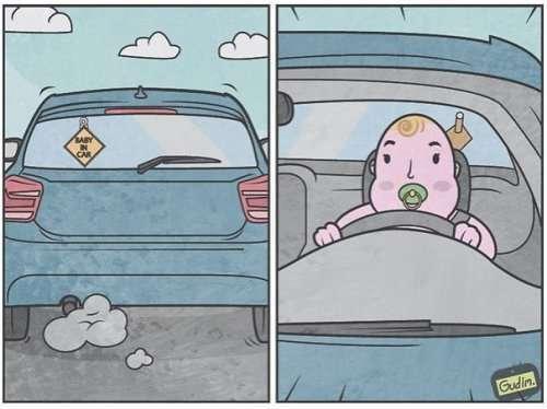 Комиксы и иллюстрации Антона Гудима (29 шт)
