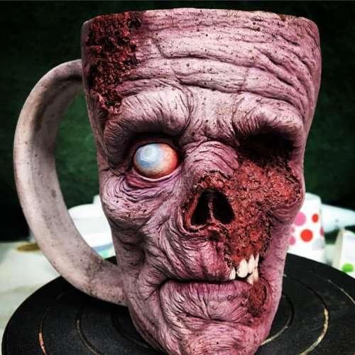 Зомби-чашка для утреннего кофе (10 фото)