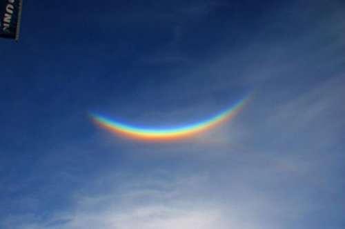 Околозенитная дуга или радуга вверх тормашками (7 фото)