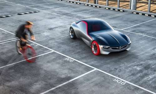 Купе GT Concept: новый концепт-кар от Opel (17 фото)