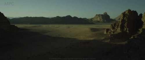 """Кадры из фильма """"Марсианин"""" до и после добавления эффектов (14 фото)"""