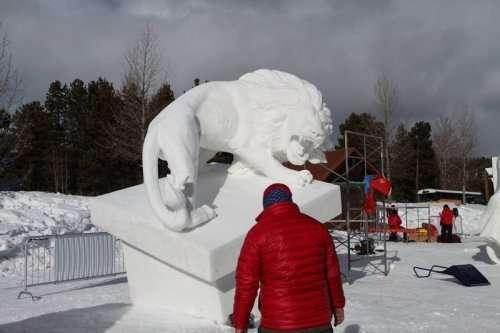 В городе Брекенридж прошёл Международный чемпионат снежных скульптур (18 фото)