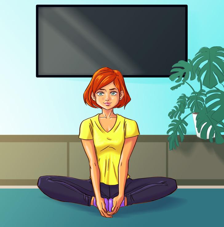 10 простых асан, которые полезны именно для женского здоровья Интересное