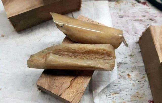 Безотходное производство. Байкер сделал нож из своей бедренной кости мастер на все руки,очумелые ручки,рукоделие,своими руками,умелые руки